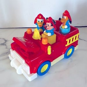 Disney 1989 Mickey Mouse & Friends Fire Truck